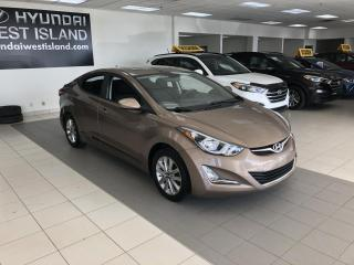 Used 2016 Hyundai Elantra SPORT AUTO TOIT MAGS A/C CAMÉRA BT CRUIS for sale in Dorval, QC