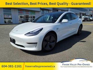 Used 2020 Tesla Model 3 Standard Range Plus RWD  Local, No Accidents for sale in Abbotsford, BC
