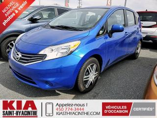 Used 2014 Nissan Versa Note SV ** CAMÉRA DE RECUL / BLUETOOTH for sale in St-Hyacinthe, QC