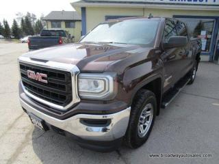 Used 2016 GMC Sierra 1500 WORK READY SL EDITION 6 PASSENGER 5.3L - V8.. 4X4.. CREW-CAB.. SHORTY.. TRAILER BRAKE.. BACK-UP CAMERA.. BLUETOOTH SYSTEM.. KEYLESS ENTRY.. for sale in Bradford, ON