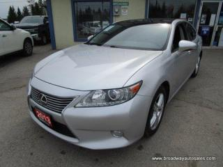 Used 2013 Lexus ES 350 LIKE NEW LOADED 5 PASSENGER 3.5L - V6.. ECO & SPORT MODE.. NAVIGATION.. POWER SUNROOF.. BACK-UP CAMERA.. BLUETOOTH SYSTEM.. HEATED SEATS & WHEEL.. for sale in Bradford, ON