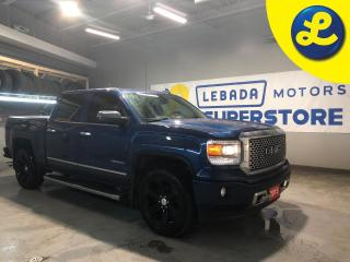 Used 2015 GMC Sierra 1500 Denali Crew Cab 4X4 * Navigation *  Sunroof * 22 inch Balcked Out Alloys * Heated/Cooled Leather Seats * Bose Audio System * Power Sliding Rear Window for sale in Cambridge, ON
