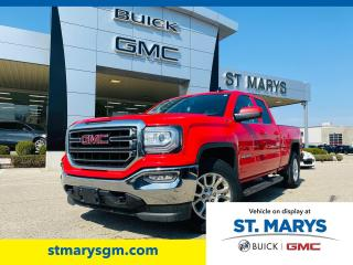 Used 2017 GMC Sierra 1500 SLE for sale in St. Marys, ON
