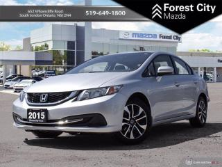 Used 2015 Honda Civic Sedan EX for sale in London, ON
