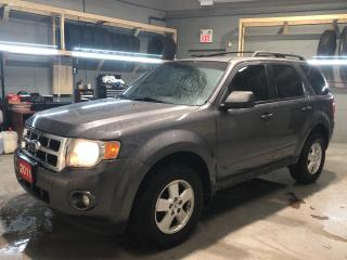 Used 2011 Ford Escape Navigation * Heated Leather Seats * MicroSoft Sync * Cruise Control * Steering Wheel Controls *   Automatic Headlights *  AM/FM/SXM/USB/Aux * for sale in Cambridge, ON