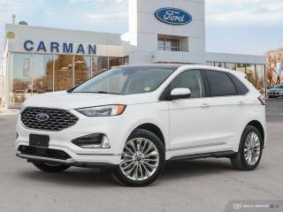 New 2021 Ford Edge Titanium for sale in Carman, MB