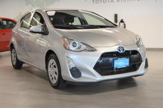 Used 2016 Toyota Prius c eCVT for sale in Richmond, BC