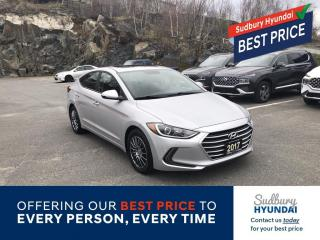 Used 2017 Hyundai Elantra GLS Snow tires on rims Included!, Remote Starter! for sale in Sudbury, ON