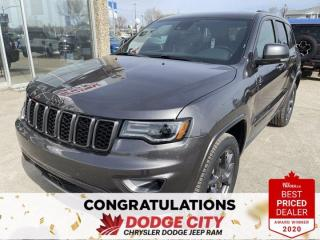 New 2021 Jeep Grand Cherokee 80th Anniversary Edition-4WD,Nav,Htd/Vented Seats for sale in Saskatoon, SK