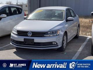 Used 2017 Volkswagen Jetta Sedan Trendline+, Clean Carfax, Apple CarPlay, Backup Camera for sale in Winnipeg, MB