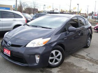 Used 2014 Toyota Prius HYBRID,CERTIFIED,SUNROOF,GPS,BLUETOOTH,NO ACCIDENT for sale in Kitchener, ON