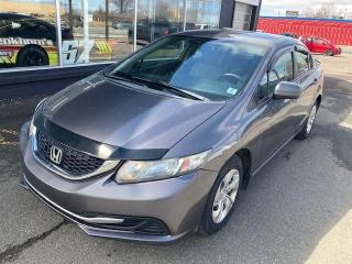 Used 2014 Honda Civic LX for sale in Truro, NS
