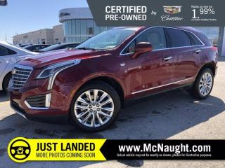 Used 2018 Cadillac XT5 Platinum AWD for sale in Winnipeg, MB