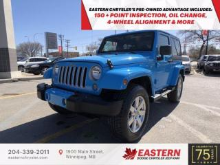 Used 2018 Jeep Wrangler JK Sahara | No Accidents | 1 Owner | for sale in Winnipeg, MB