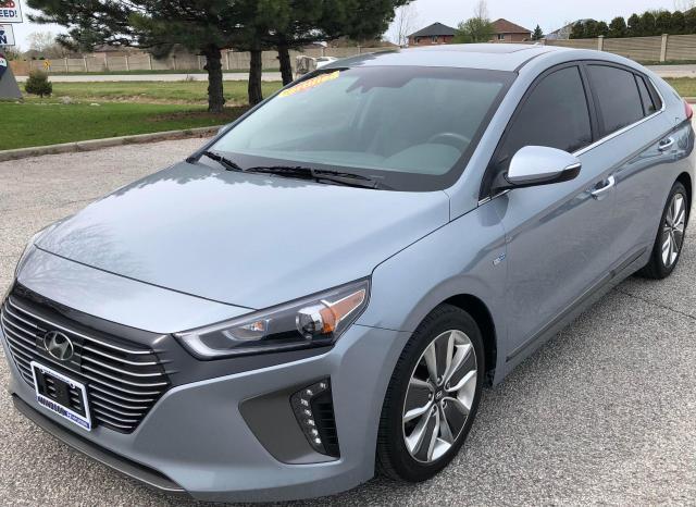 2017 Hyundai IONIQ Limited w/Technology