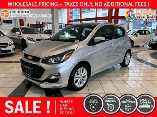 Used 2019 Chevrolet Spark LT - No Accident / Local / One Owner / No Dealer Fees for sale in Richmond, BC