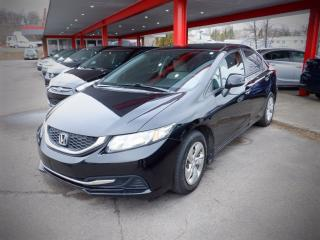 Used 2013 Honda Civic LX for sale in Saint John, NB