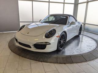 Used 2014 Porsche 911 Carrera S | Cabriolet | CPO | Ext. Warranty | Premium Plus | Sport Exhaust | No Accidents for sale in Edmonton, AB