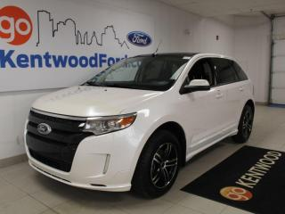 Used 2011 Ford Edge SPORT | AWD | NAV | Leather | Sunroof | One Owner | Clean Carproof for sale in Edmonton, AB