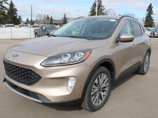 New 2021 Ford Escape Titanium | HYBRID | AWD | Heated Seats | Reverse Camera | Adaptive Cruise for sale in Edmonton, AB