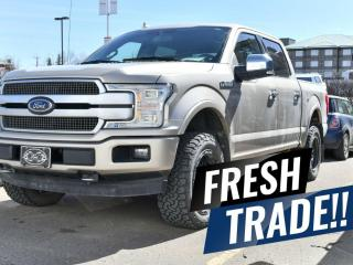 Used 2018 Ford F-150 PLATINUM for sale in Red Deer, AB
