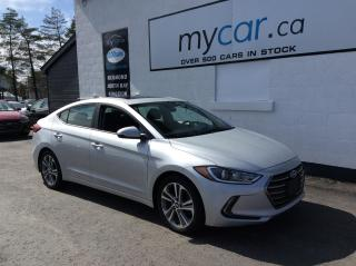 Used 2018 Hyundai Elantra GLS LEATHER, SUNROOF, HEATED SEATS, ALLOYS!! for sale in Richmond, ON
