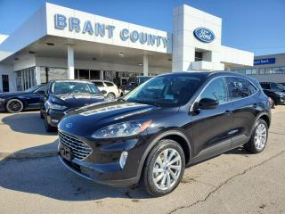 Used 2021 Ford Escape Titanium Hybrid for sale in Brantford, ON