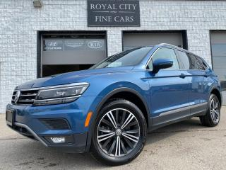 Used 2018 Volkswagen Tiguan Highline 4MOTION NAV// PANOROOF/ DRIVER ASSITANCE for sale in Guelph, ON