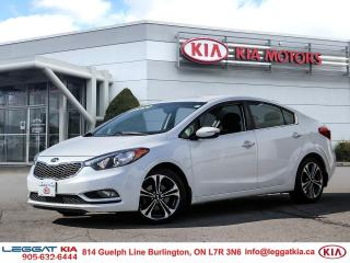 Used 2016 Kia Forte EX / One Owner/ No Accident/Heated Seats/Bluetooth/Camera for sale in Burlington, ON