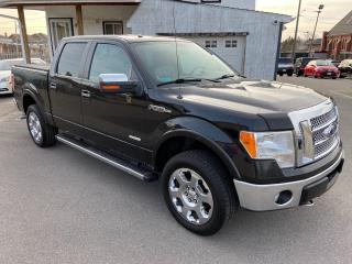 Used 2012 Ford F-150 LARIAT ** 4X4, HTD/COOLED LEATH, TOW PKG ** for sale in St Catharines, ON