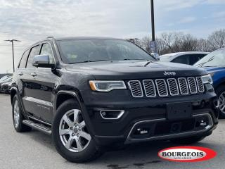 Used 2018 Jeep Grand Cherokee Overland HEATED SEATS, REVERSE CAMERA for sale in Midland, ON