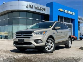 Used 2018 Ford Escape SEL 4WD SUNROOF NAVIGATION HEATED SEATS LEATHER for sale in Orillia, ON