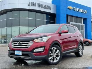Used 2013 Hyundai Santa Fe Sport AWD LIMITED SPORT 2.0L HOT/COLD SEATS ROOF NAV for sale in Orillia, ON