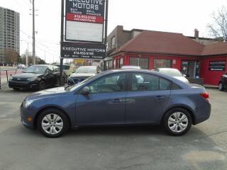 Used 2013 Chevrolet Cruze LS/ CLEAN / NO ACCIDENT / ONE OWNER / A/C / MINT for sale in Scarborough, ON