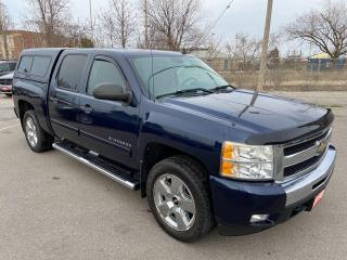 Used 2010 Chevrolet Silverado 1500 LT ** CREW CAB, 4X4, CRUISE, TOW PKG ** for sale in St Catharines, ON