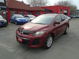 Used 2010 Mazda CX-7 GX/ SUNROOF /AC / ALLOYS / ROOF  RACK / LOW KM / for sale in Scarborough, ON