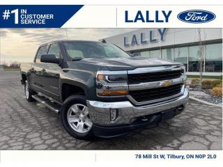 Used 2018 Chevrolet Silverado 1500 LT, 4x4, Local Trade, Mint!! for sale in Tilbury, ON