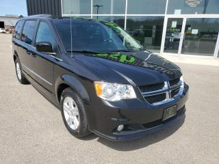 Used 2012 Dodge Grand Caravan Crew Tri-Zone Climte, Cruise, Stow'N Go!! for sale in Ingersoll, ON