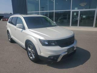 Used 2016 Dodge Journey Crossroad DVD, Sunroof, NAV, Heated Seats & Wheel, B/U Cam! for sale in Ingersoll, ON
