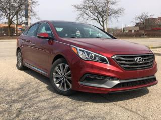 Used 2015 Hyundai Sonata 4DR SDN 2.4L AUTO SPORT for sale in Waterloo, ON