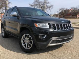Used 2014 Jeep Grand Cherokee 4WD 4Dr Limited for sale in Waterloo, ON