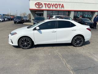 Used 2016 Toyota Corolla LEATHER for sale in Cambridge, ON
