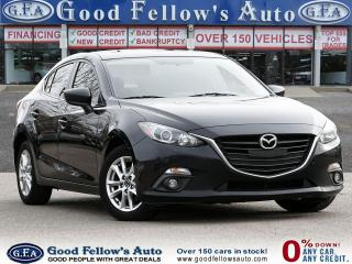 Used 2014 Mazda MAZDA3 GS MODEL, SKYACTIV, SUNROOF, BACKUP CAMERA, ALLOY for sale in Toronto, ON
