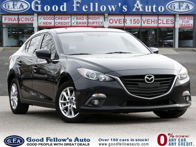 2014 Mazda MAZDA3 GS MODEL, SKYACTIV, SUNROOF, BACKUP CAMERA, ALLOY