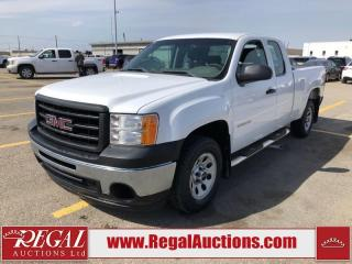 Used 2013 GMC SIERRA 1500 WT EXT CAB SWB 2WD 4.8L for sale in Calgary, AB