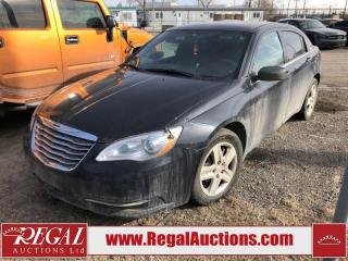 Used 2013 Chrysler 200 (10-P) for sale in Calgary, AB