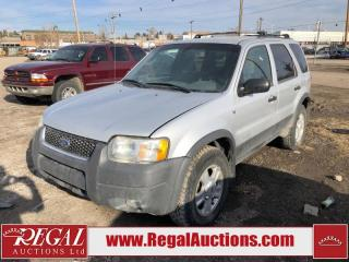 Used 2002 Ford Escape (20-W) for sale in Calgary, AB