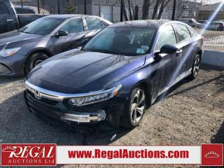 Used 2018 Honda Accord (54-SOUTH) for sale in Calgary, AB