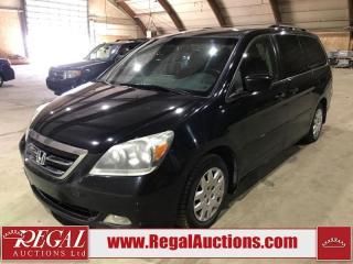 Used 2007 Honda Odyssey 4D SPORTS VAN for sale in Calgary, AB