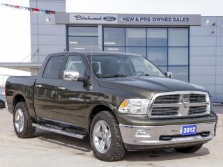 Used 2012 RAM 1500 SLT BIG HORN | NAV | ROOF |  CLEAN CARFAX for sale in Winnipeg, MB
